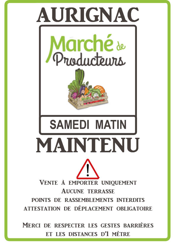 Maintien marché d'Aurignac