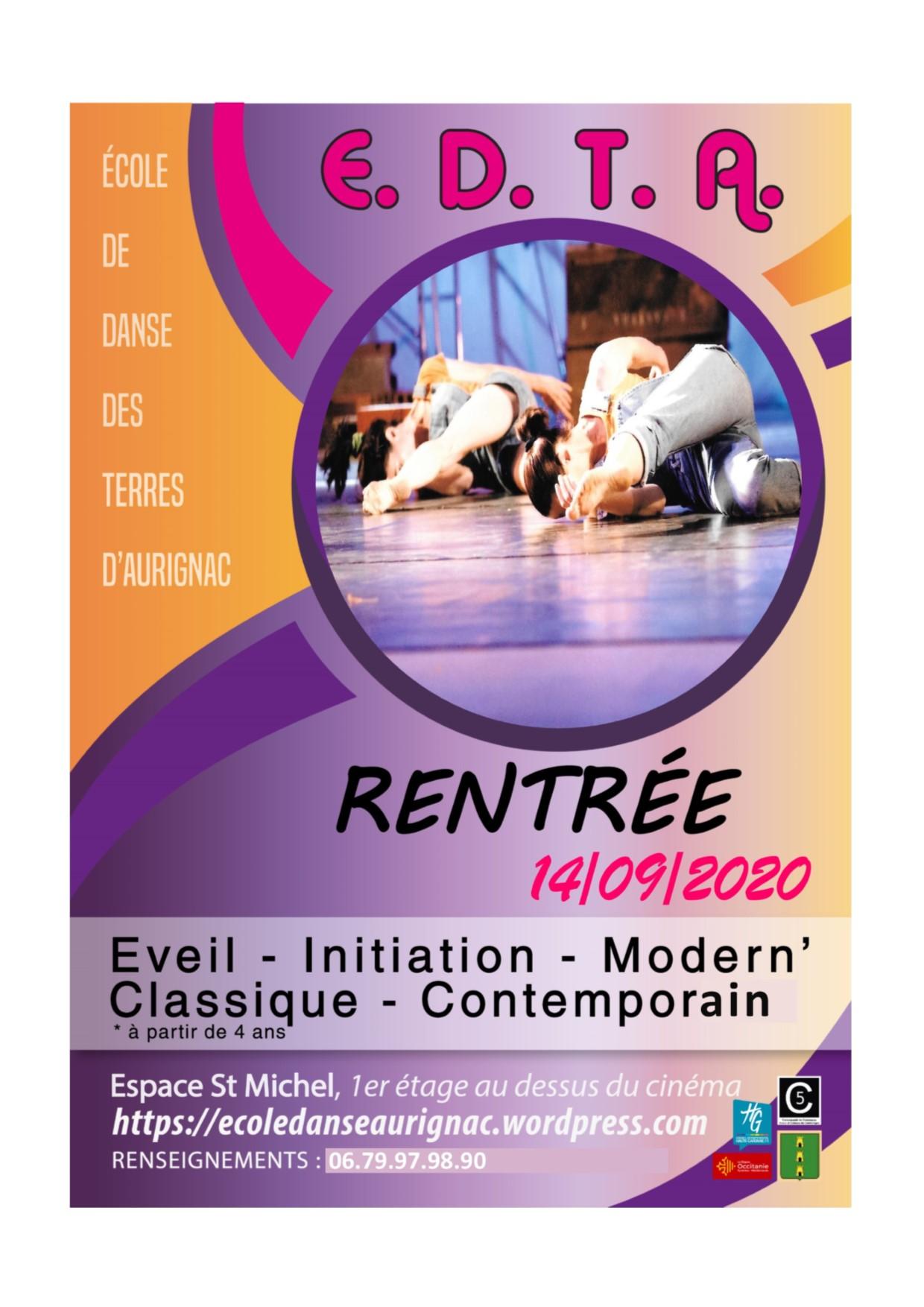 École de Danse des Terres d'AURIGNAC