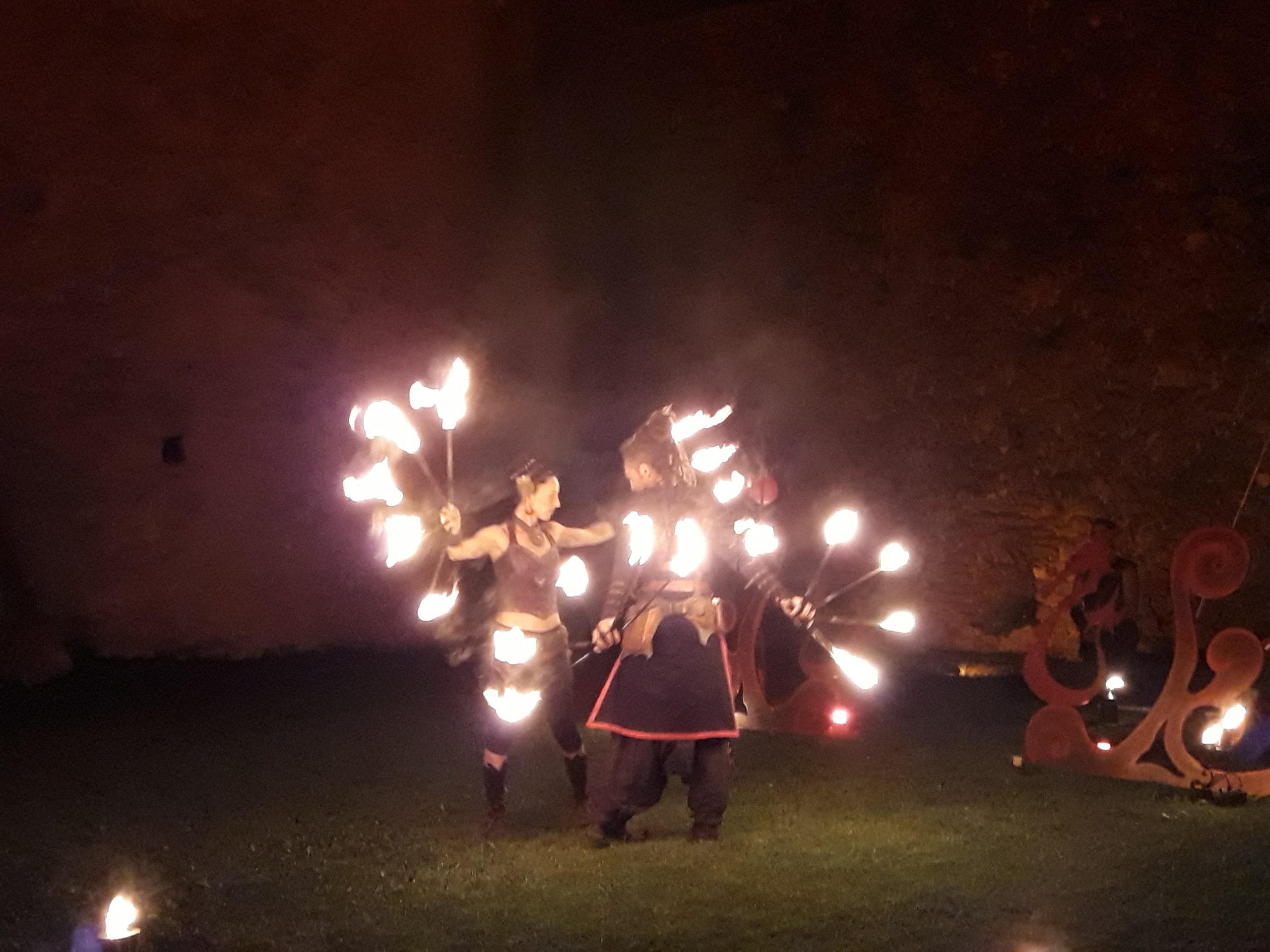 Nocturne au château – Shakti – Cie Le Goupil – 10 août 2018