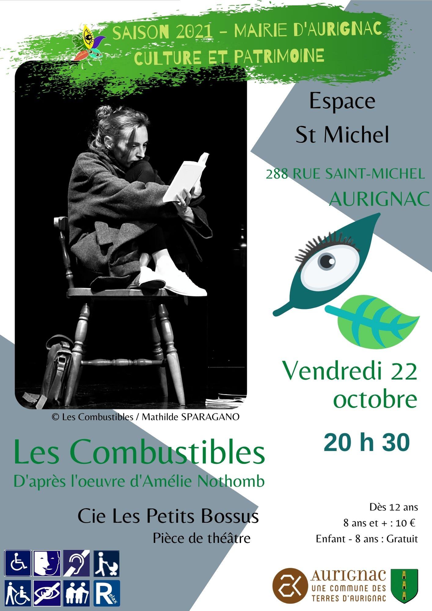 Read more about the article Les Combustibles – d'après l'œuvre d'Amélie Nothomb.