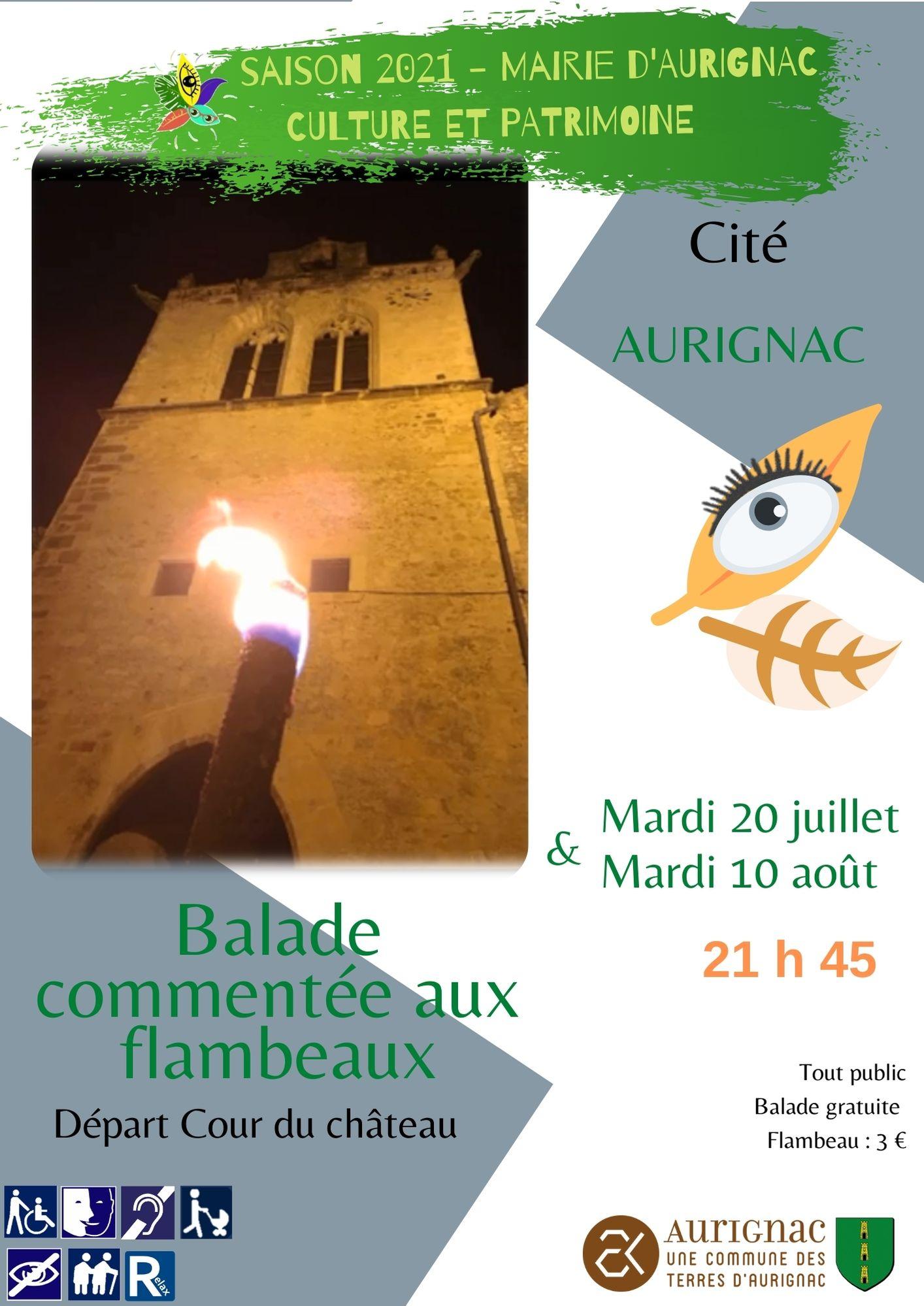 Read more about the article Balade commentée aux flambeaux