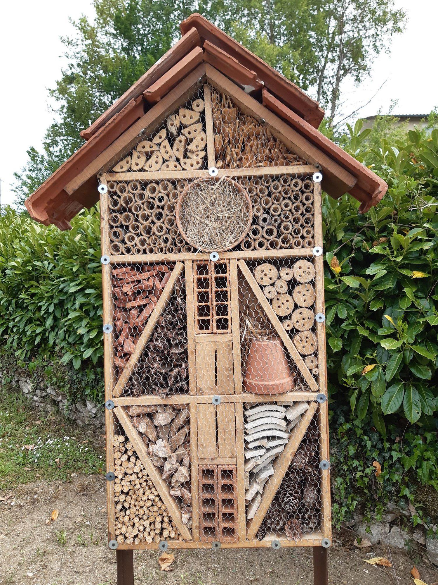 Read more about the article Les hôtels à insectes