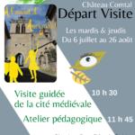 À l'assaut d'Aurignac ! – Visite guidée tout l'été, du 06 juillet au 26 août.