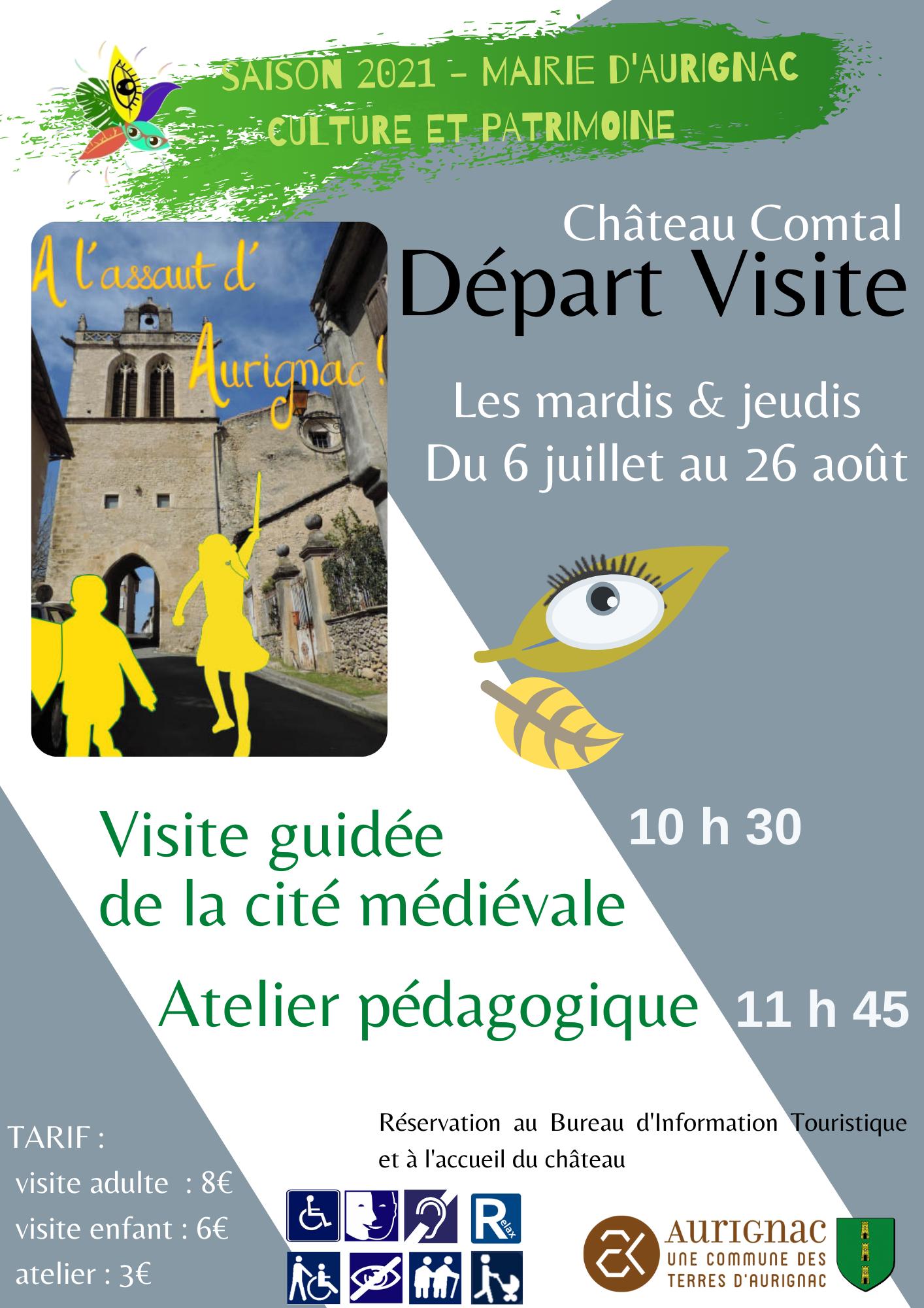 Read more about the article À l'assaut d'Aurignac ! – Visite guidée tout l'été, du 06 juillet au 26 août.